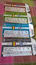 TICKET : BELGIUM - GREECE 25-03-2017 WORLD CUP 2018