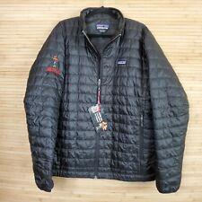 NEW Patagonia Men's Full Zip Nano Puff Coat Jacket Black Netflix Size XL 84212