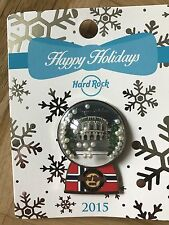 Hard Rock Cafe Oslo 2015 Snow Globe Pin