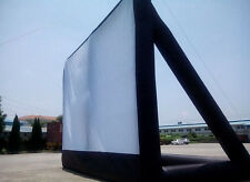 5*3m Giant Inflatable Movie Screen, Outdoor Inflatable Screen @U