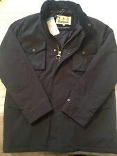 BNWT Men's Barbour Jersey Jacket. Size Large. Navy. RRP £189