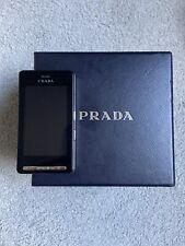 LG PRADA KE850 - Black Mobile Phone Unlocked RARE