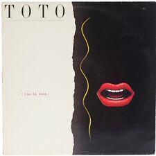 Isolation  TOTO Vinyl Record