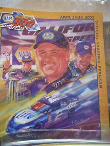 NASCAR RACING COLLECTIBLES  ~1998, 2001, 2005 SOUVENIR PROGRAMS, TICKET HOLDERS