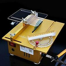 Table Saw Handmade Woodworking Bench Lathe Electric Polisher Grinder Cutting Saw
