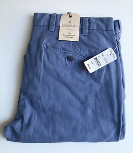Brooks Brothers Red Fleece Pants, Garment-Dyed Sky Blue, 34 x 32, New-w-Tags