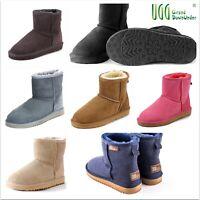 "UGG Boots100%Australian Shearing Sheepskin Premium Classical Mini Unisex1/2(6""+)"
