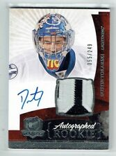 10-11 UD The Cup  Dustin Tokarski  /249  Auto  Patch  Rookie