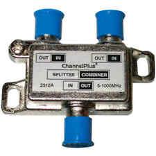 Channel Plus 2512 DC/IR Passing Splitter/Combiner - 2-way - 5-1000MHz
