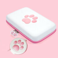 Kawaii Carrying Cat Paw Logo Case Storage Bag Box For Nintendo Switch / Lite CBY