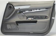 original Audi A6 4f Puerta de paneles revestimiento cuero delantero derecho