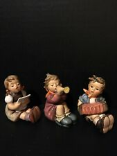 "New ListingHummel Figurines ""Little Band"" Hum # 389, # 390, # 391 - Tmk 5 - Pristine"