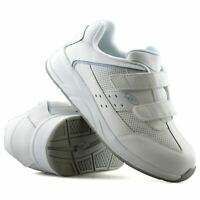 Ladies Womens Dr Scholls Leather Wide Fit Casual Walking Gym Trainers Shoes Size