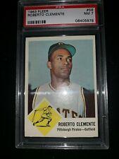 1963 Fleer Clemente PSA 7