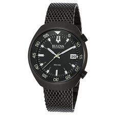 Bulova 98B247 Men's Accutron II Black Quartz Watch