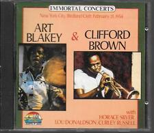 CD ALBUM 10 TITRES--ART BLAKEY & CLIFFORD BROWN--LIVE NEW YORK CITY 1954