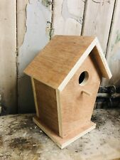 BIRD BOX HOUSE PREMIUM HANDMADE PAINT YOUR OWN