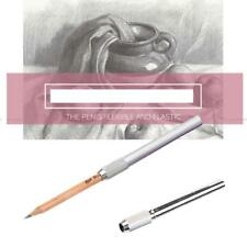 Pencil Bulk Pen Extender Holder School Writing Tool DE