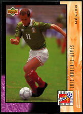 Luis Roberto Alves Mexico Golden Boots #UD29 World Cup USA '94, (Eng/Ger) (C388)