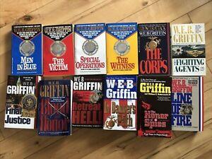 WEB Griffin 12 Book Lot