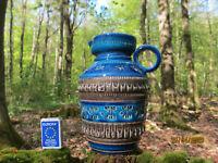 schöne 60er / 70er Nuovo Rinascimento Keramik Vase - italy -Londi- Bitossi Style