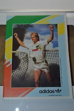 1980's Adidas Ambar Exercise Book STEFAN EDBERG Tennis Legend