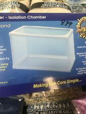 "Aquarium Fish Net Cage Isolation/Breeding Chamber/Breeder 10"" Large Usa Seller"