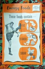 More details for rare 1950s hmso maff jimmy hill silk screen print educational poster