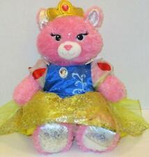 "Build A Bear Furever Princess Sparkle Pink Purrincess Cat 17"" Plush Snow White"