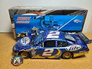 2010 Kurt Busch #2 Miller Lite Atlanta Win 1:24 NASCAR Action/RCCA Elite MIB