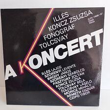 ILLES / KONCZ ZSUZSA / FONOGRAF / TOLCSVAY A Koncert SLPX 17686 -87