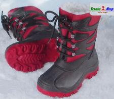 Jungen Winterstiefel Winterschuhe Boots Stiefel A NEU