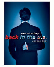 Paul McCartney - Back in the U.S. Live (DVD, 2002) US CONCERT FILM MOVIE 3 HOUR
