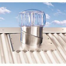 Whirly Bird Windmaster 250mm Clear Turbobeam Roof Cavity Ventilation Ventilator