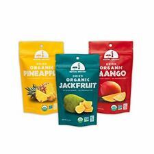 Mavuno Harvest Direct Trade Organic Dried Fruit Variety Pack, Mango, Pineapple,