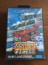 Turbo Outrun UK PAL Boxed and Complete Sega Megadrive