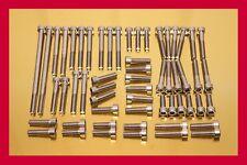 KAWASAKI Z 1000 76-83 V2A Edelstahl-Schrauben Motorschrauben Schraubensatz Z1000