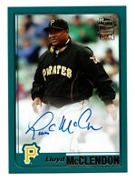 2020 Topps Archives Fan Favorites Autograph Lloyd McClendon Pittsburgh Pirates