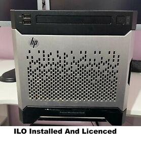 HP Microserver Gen8, Xeon E3-1240L Quad Core@ 3.40Ghz RAM 16GB