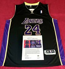 Kobe Bryant Los Angeles Lakers Signed Adidas Hollywood Nights Authentic Jersey