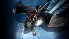 """022 How to Train Your Dragon 3 - The Hidden World Hiccup Movie 24""""x14"""" Poster"""