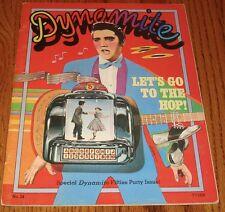 ELVIS PRESLEY Dynamite Magazine  1976