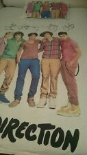 Doona Cover King Single/ Double size ONE DIRECTION 1 Pillowcase As new