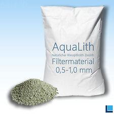 Filtermaterial Zeolith 0,5-1mm 25kg  Filtermedium Filtermedien Filter AquaLith