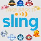 SlingTV | 0range | Blue | For One Year