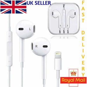 Earphones Headphones Bluetooth Apple iPhone 7 8 Plus X XR 11 iPad With Mic NEW