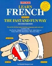 Learn French the Fast and Fun Way: With French-English English-French Dictionary