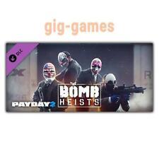 PAYDAY 2: the bomb Heists addon/DLC PC Gioco Steam Download Link de/UE/USA Key