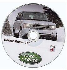 Range Rover III (2002-2012) manuel d'atelier - workshop manuelle