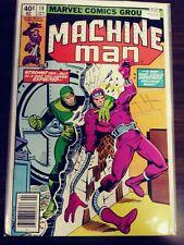 MACHINE MAN 14 [STEVE DITKO ART] FN- MARVEL PA13-36